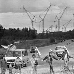 1988-09-18-zaliuju-akcija-prie-Ignalinos-AE