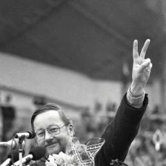 1990-04-07-mitingas-del-Gorbaciovo-kreipimosi-i-Lietuva